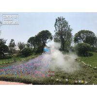 重庆园林喷雾系统,人造雾品牌一站式服务体验,景观雾森优质之选锦胜科技