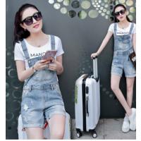 厂家直销夏季杂款韩版女装背带牛仔裤潮流吊带牛仔裤女式牛仔吊带
