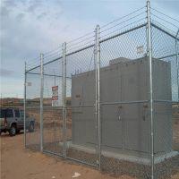 动物园养殖网 体育场隔离栅 操场包塑勾花网