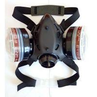 正品大方绿途102G双罐防毒口罩油漆喷漆甲醛专用口罩活性炭半面罩