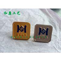 哪里能做金属烤漆徽章?深圳和康工艺专业定制各类金属工艺徽章