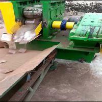 废旧架子管切断机 架子管压扁切断机 脚手架管子切断机