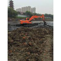 水陆两用挖掘机出租改装