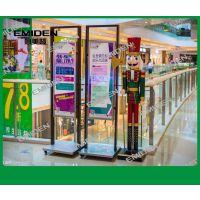 深圳市意美登楼梯供应厂家定制大型商场不锈钢玻璃围栏护拦 YMD-1841