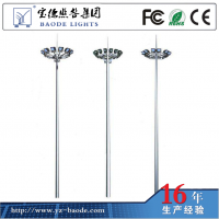 新逵凯厂家直销12米以上中杆灯1000W来图定制承接工程