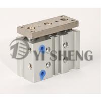 浙江一盛SMC型三轴气缸 MGQM12-10/20/30/40/50/75/100新薄型带导杆气缸