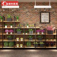 铁艺室内多功能花架子客厅落地式绿萝多层花盘架阳台吊兰花架定制