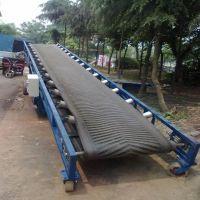 宝坻区便携式装车输送机 大型爬坡胶带输送机生产