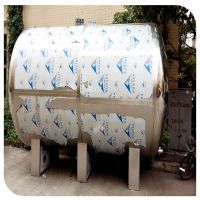 清又清大容量液位计供水设备茂名市不锈钢纯水无菌储水罐