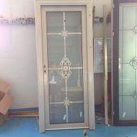 佛山厂家供应铝合金门窗 定制厕所单包边平开门 隔音隔热