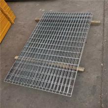 浙江钢格板厂家 钢格板排版图 踏步板a4理论重量