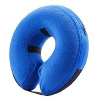 PVC充气宠物脖圈 宠物通用防护脖圈