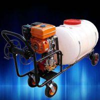 大容量大功率远程操控高压喷雾器 施水稻高粱推车式打药机