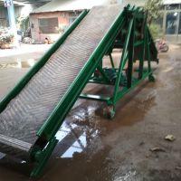 港口食品级PVC输送机 兴亚装车用带式输送机视频