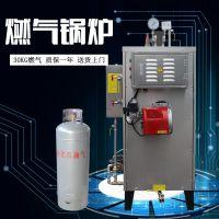旭恩品牌低压立式30kg燃汽锅炉 自然循环免检产品工业快装锅炉