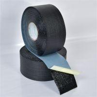 供应迈强牌760高粘度1.10mm 网状纤维聚丙烯胶粘带