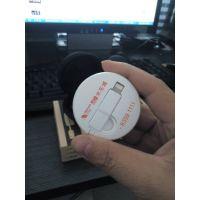 西安创意礼品定制印logo 隐藏式USB苹果6/6plus数据线二合一伸缩安卓双用马卡龙数据线
