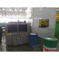液压站油箱油温过高如何降温,用诺雄液压站制冷机