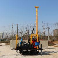 地温中央空调施工专用钻探机 水井钻机 液压钻探机