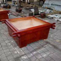 定制生产 樟子松实木花箱 户外实木花箱组合 塑木花盆 实木种植箱
