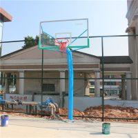移动式球架子款式 定做专业比赛使用的篮球架 柏克厂家直销镀锌球架
