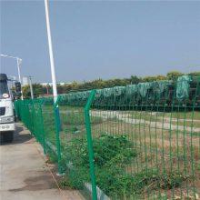 露天停车场围栏网 河道围墙护栏 厂家直销双边丝护栏网