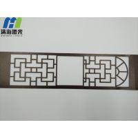 深圳龙岗纸制月饼盒包装卡纸激光镭雕窗花-满海激光雕刻