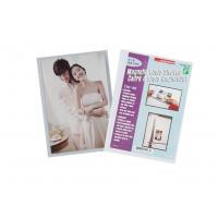 磁性文件袋冰箱贴 磁铁文件袋软磁贴 磁性文件袋相片袋 磁铁PVC透明相框冰箱贴 照片袋
