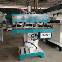 MZ5012气动立卧8头钻床 家华盈富木工多轴钻设备