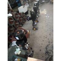 多级管道离心泵 不锈钢 QDL4-40 0.75KW 众度泵业