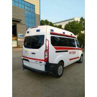 福特江铃长轴中顶救护车生产厂家特价销售中