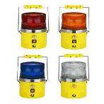 (WLY)中西便携式充电LED警示灯带蜂鸣器库号:M247121