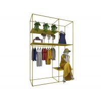童装货架展示柜,男童服装展柜定制