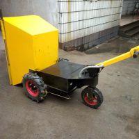 物流运输平板车 移动售货重载 搬运省力电动手推车