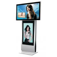55寸高清立式液晶广告机 落地式 超薄液晶显示器酒店商场大厅展示用