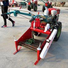 手扶带动土豆收获机厂家直销 马铃薯红薯收获机 高效农用收获机械