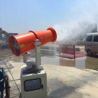 """建筑工地喷雾机为工地""""洗肺""""为您的健康保驾护航"""