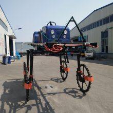 热销推荐700L水田喷雾机农用施肥喷药机旭阳自走式喷杆打药车