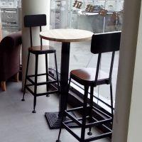 成都咖啡厅吧椅星巴克创意吧椅店内设计定做