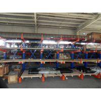 伸缩悬臂式货架从设计到生产交货