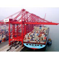 东莞到上海虹桥船运集装箱点到点运输