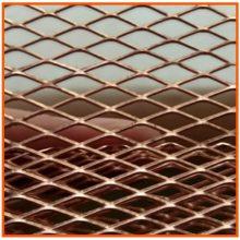 哪里卖铜板拉伸网 安平县铜板网厂 装饰 大孔 小孔 可定做 马腾 菱型