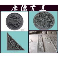 河北唐德砖雕厂100*100合成砖雕青砖雕刻