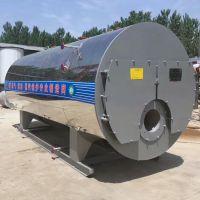 河南明信4吨天然气蒸汽锅炉室燃炉卧式低压工业锅炉