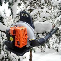 大功率汽油吹雪机 手持式吹风机 四冲程风力灭火机