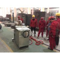 威德尔耐高温工业吸尘器钢铸车间吸高温焊渣铁屑用7.5KW工业吸尘设备