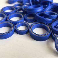 上海勤图四氟泛塞封,耐腐蚀密封圈,耐磨损弹簧V型圈,厂家直销定做