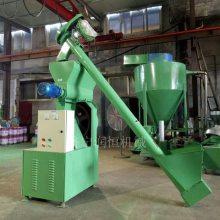 颗粒状饲料加工机器 挤压颗粒饲料机