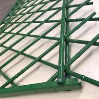 不锈钢仿竹护栏 景区竹节围栏 仿竹篱笆绿色围栏