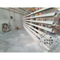 青岛木纹高分子铝方通厂家-50mm底宽铝方通吊顶整体通透,祥和,色泽丰富